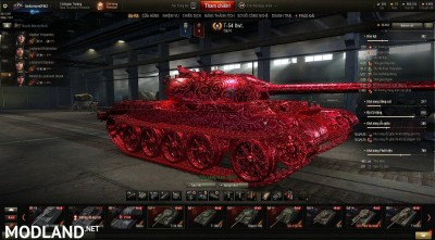 T54 lightweight DEMON mod by Tankzorspro(max setting) 1.0 [1.0.0.2]